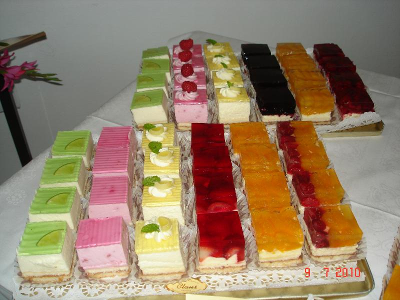 Kuchenbuffet   Bäcker Claus